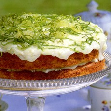 Image Gallery lime and coconut cakes